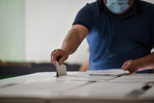 8 recomendaciones para ir a votar y evitar contagios de Covid-19