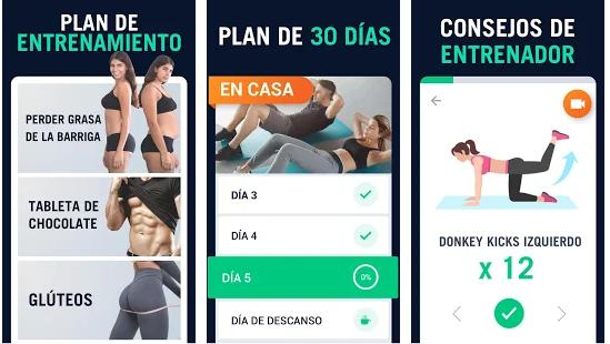 app para hacer ejercicios en casa