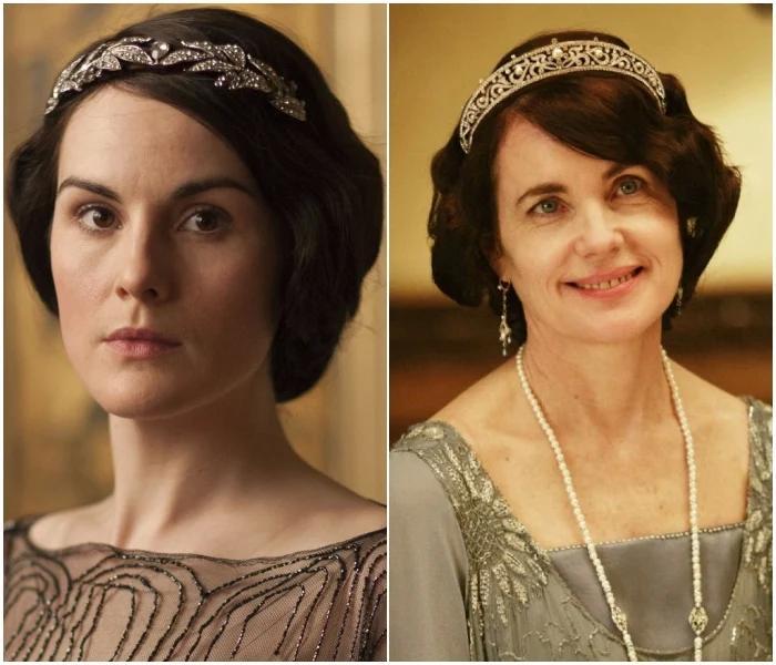 Lady Mary y Cora - 'Downton Abbey'