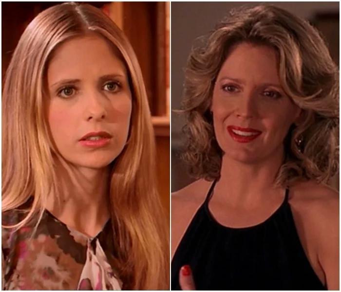 Buffy y Joyce - 'Buffy, la cazavampiros'