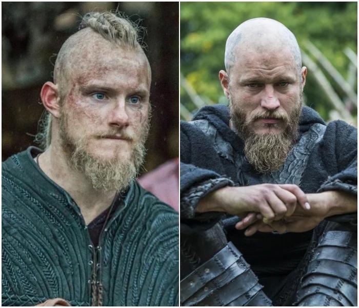 Björn y Ragnar - 'Vikings'
