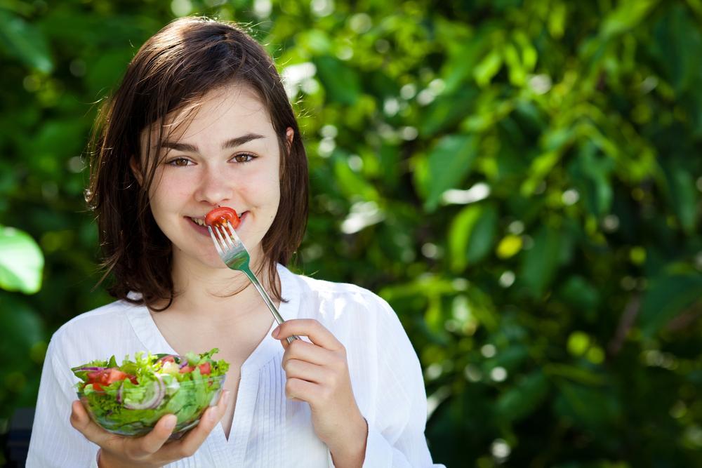 alimentación edad adolescencia