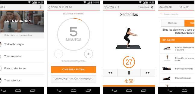 app para hacer ejercicio en casa