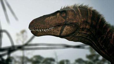 Lucha a muerte de dinosaurios