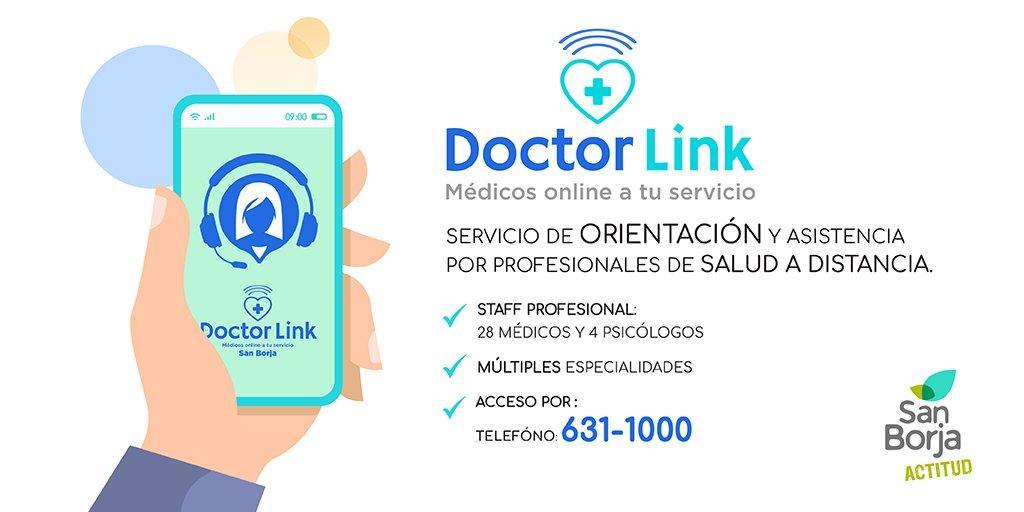 atención médica a distancia en Lima coronavirus