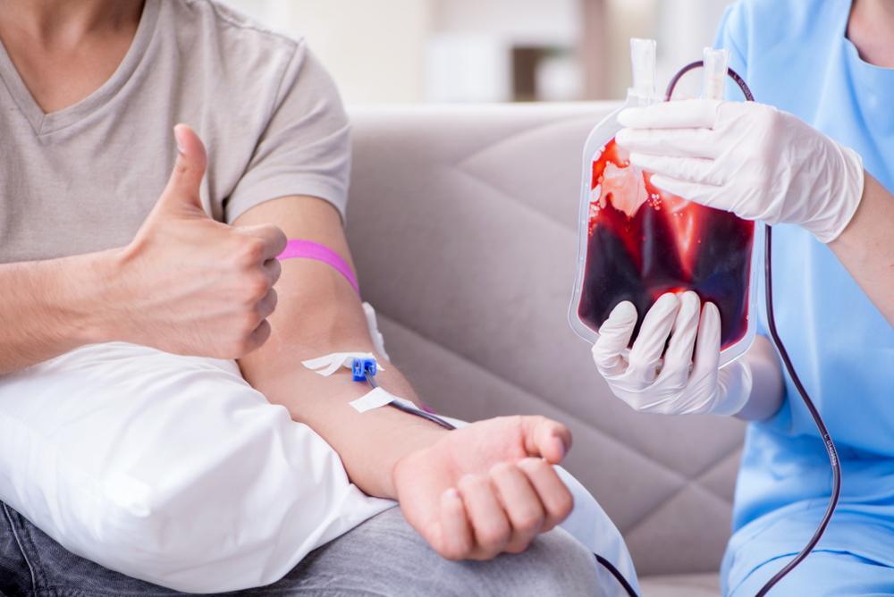 donación de sangre voluntaria