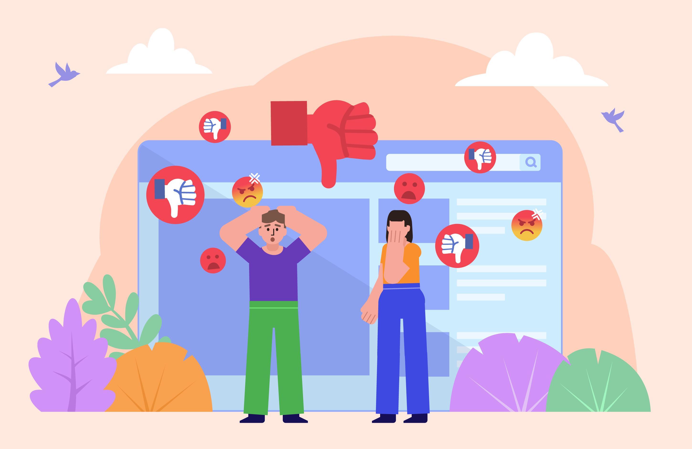 comunidad en redes sociales