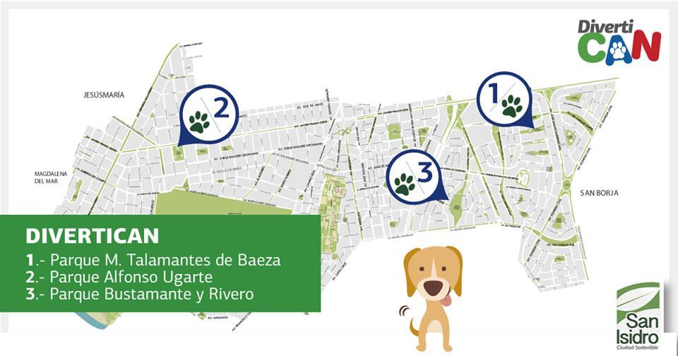 Divertican San Isidro - Juegos para perros
