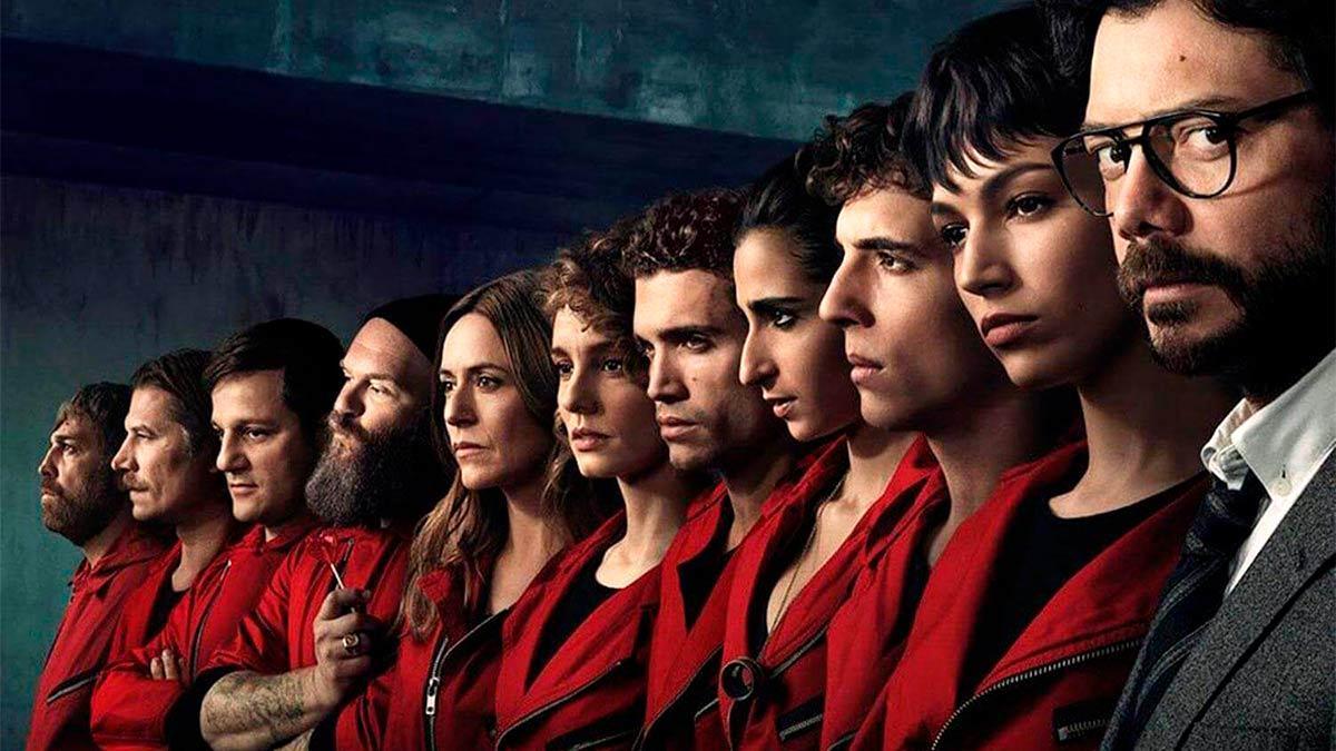 Elenco de la Casa de papel temporada 5 de Netflix