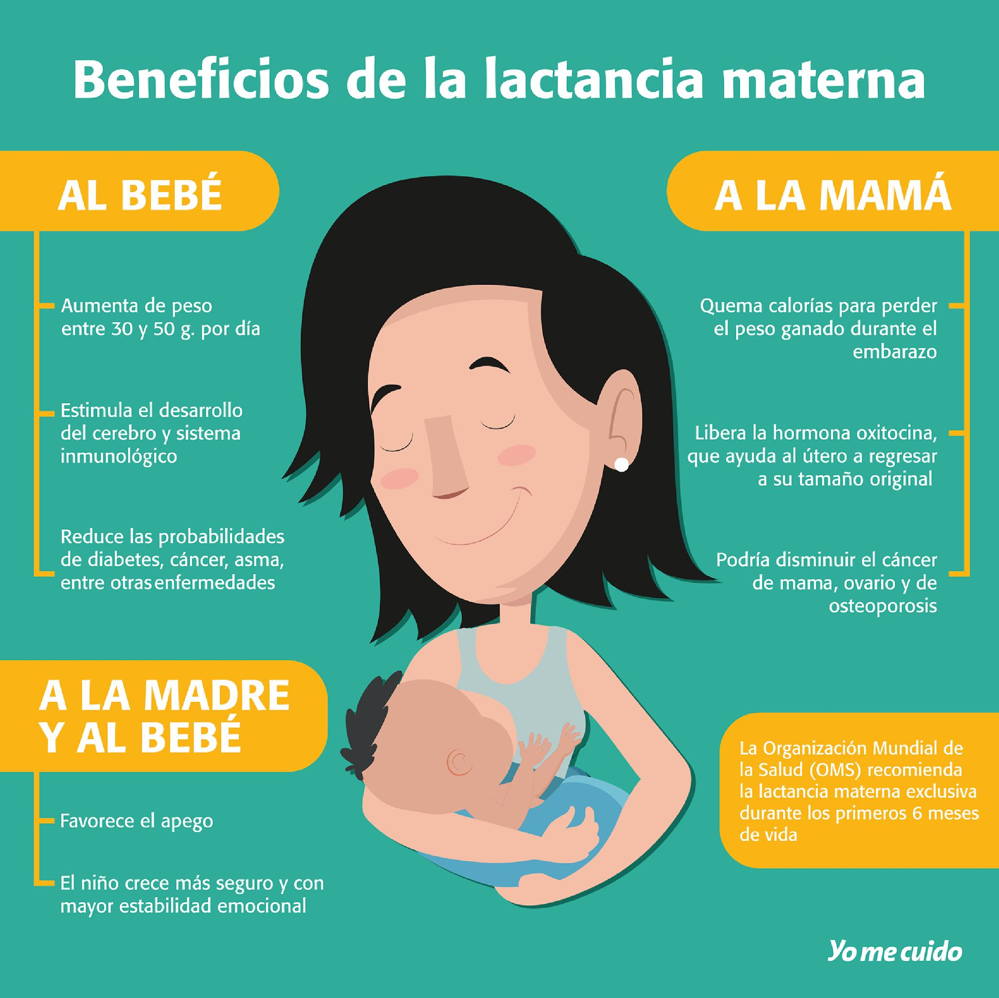 lactancia materna sus beneficios