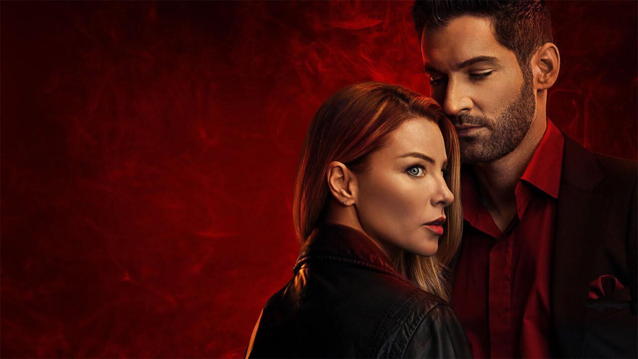 Lucifer y Chloer juntos en Netflix
