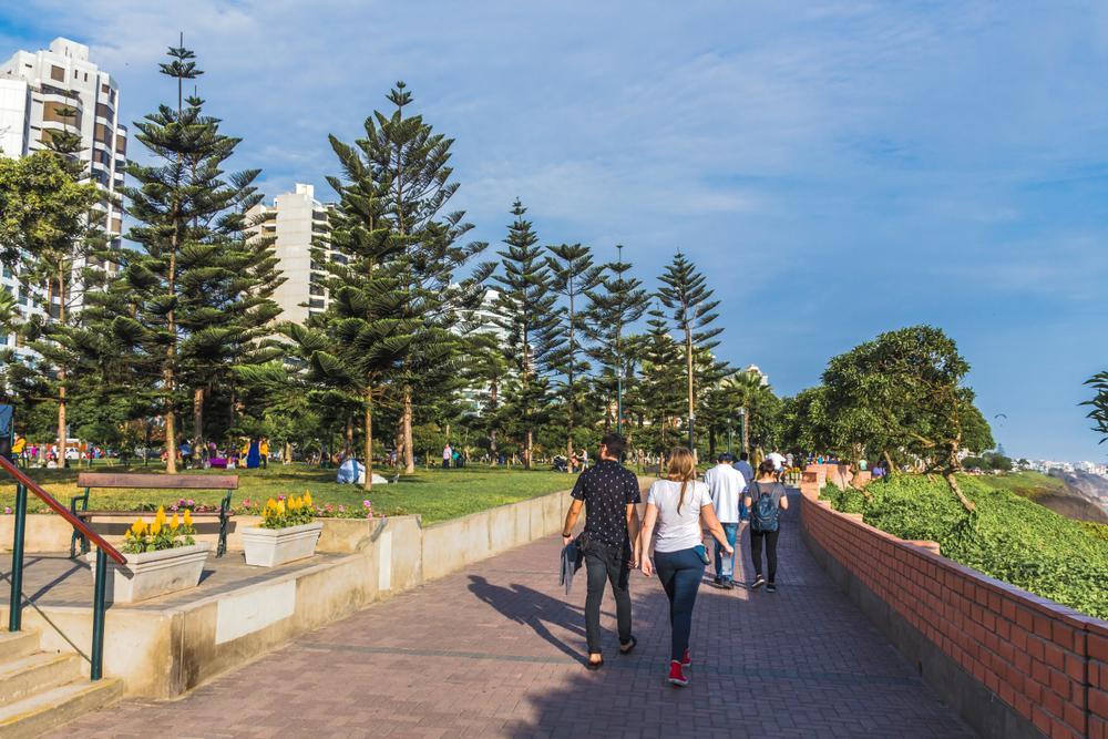 lugares para correr en Lima: Costa verde