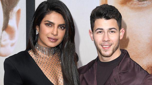 Nick Jonas y Priyanka Chopra'