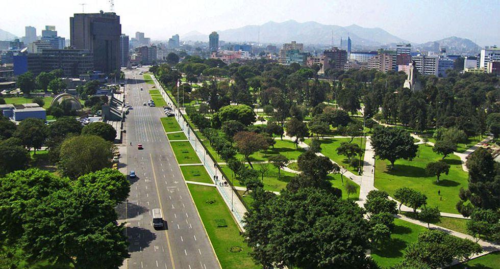 campo de marte - lugares para correr en Lima