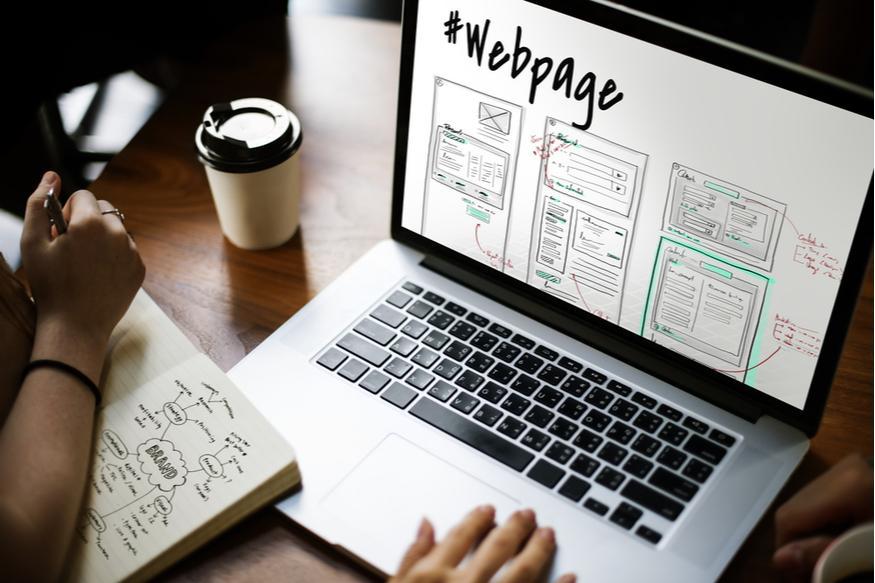 diseño sencillo de la pagina web