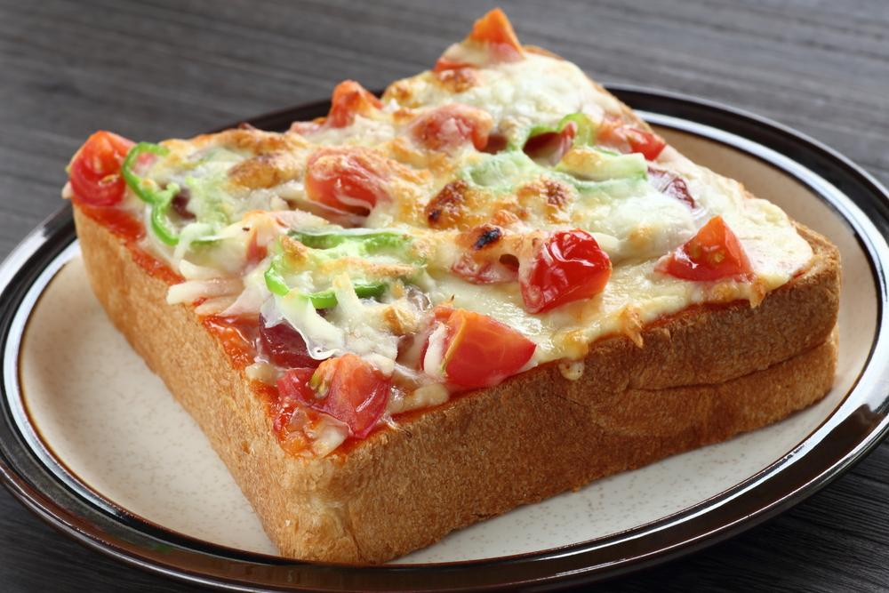 recetas en cinco minutos - pizza de pan