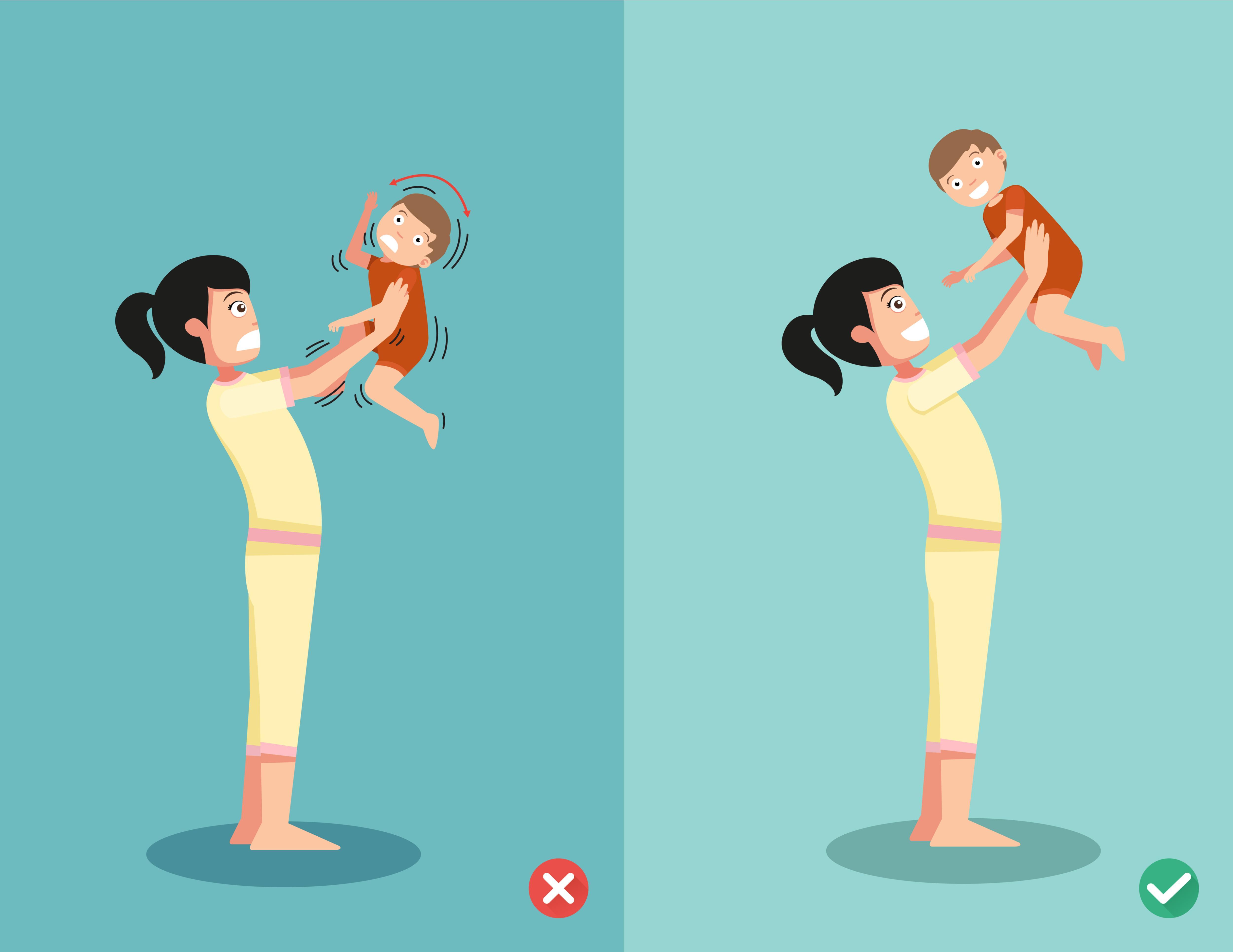 ¿Por qué nunca debes sacudir a tu bebé para calmarlo?