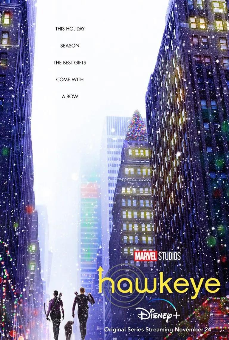 Poster Hawkeye Disney