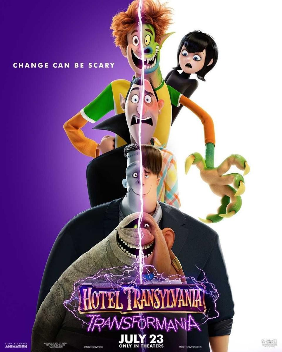 Poster oficial hotel Transilvania transformanía