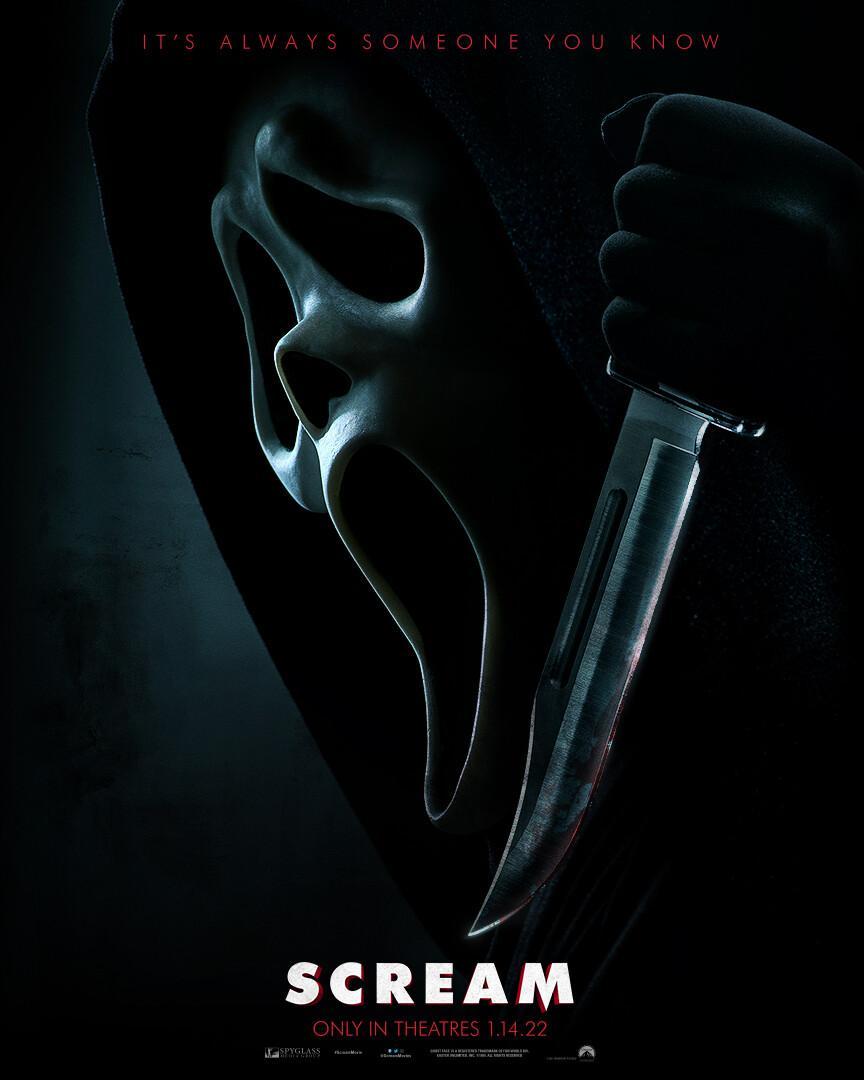 Poster oficial Scream 5