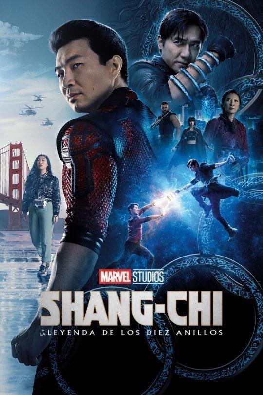 Poster oficial Shang Chi y la leyenda de los diez anillos