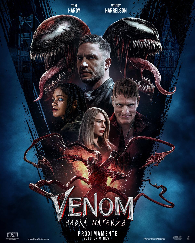Poster oficial Venom Carnage Liberado