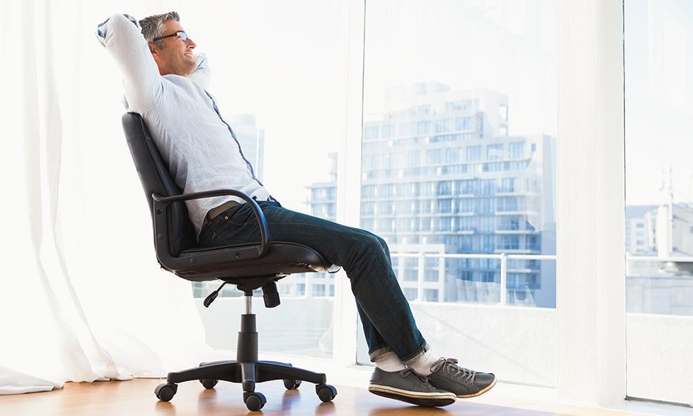 silla para trabajar comodidad