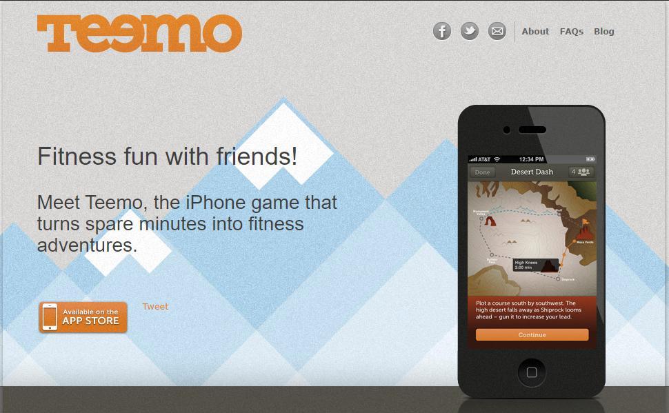 teemo app para hacer ejercicio en casa
