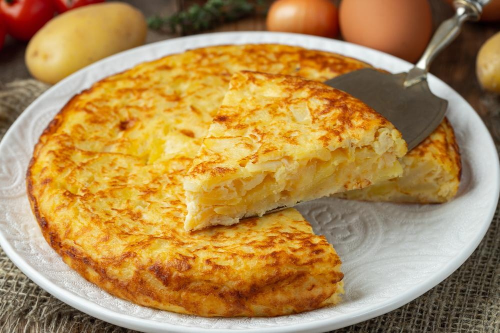 recetas en cinco minutos - tortilla española