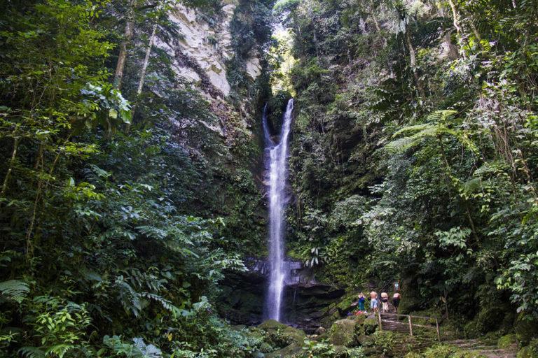 turismo en la selva - catarata de ahuashiyacu