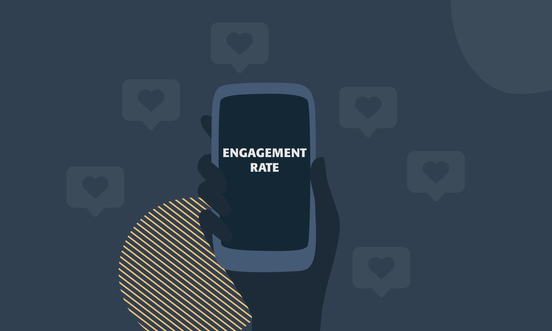 Cómo calcular el engagement rate en redes sociales