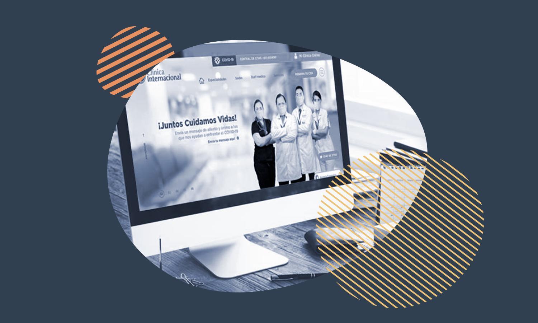 Clínica Internacional: estrategia digital para clínicas en tiempos de COVID-19
