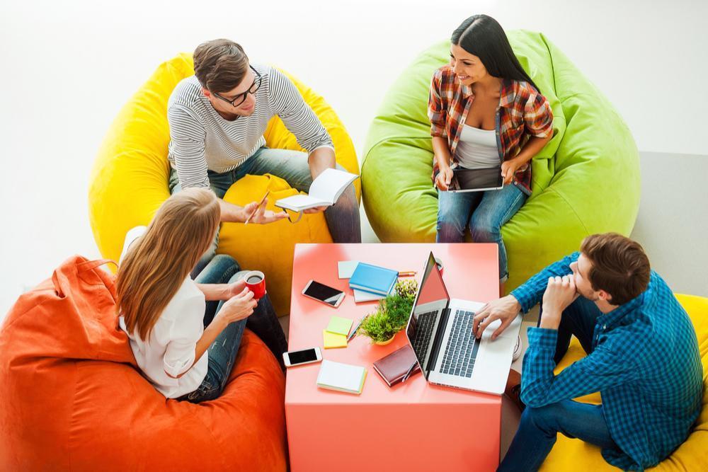 4 beneficios de trabajar en un espacio creativo