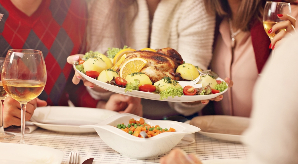 Estas cenas navideñas no te harán romper la dieta