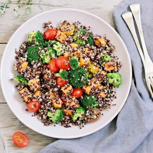 Estos almuerzos ricos en proteína no toman más de 20 minutos en preparar #ComeSano