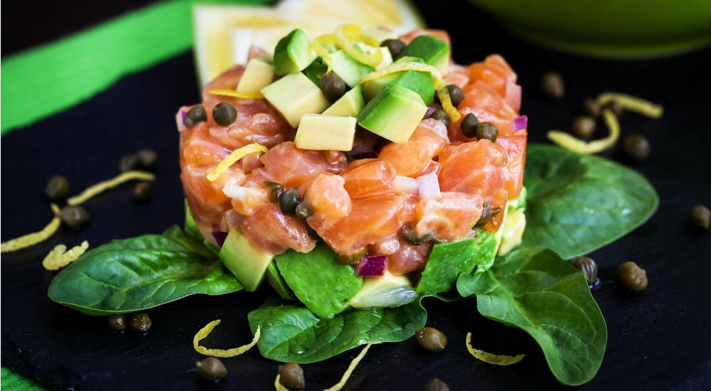 Receta: Tartare de atún o salmón