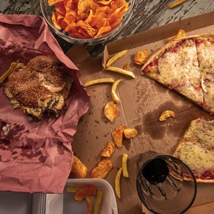 Chatarra paralizadora: la comida rápida nos vuelve más flojos