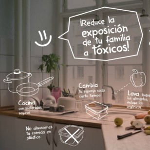 Mantén tu cocina libre de tóxicos