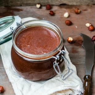Deliciosa y saludable nutella casera
