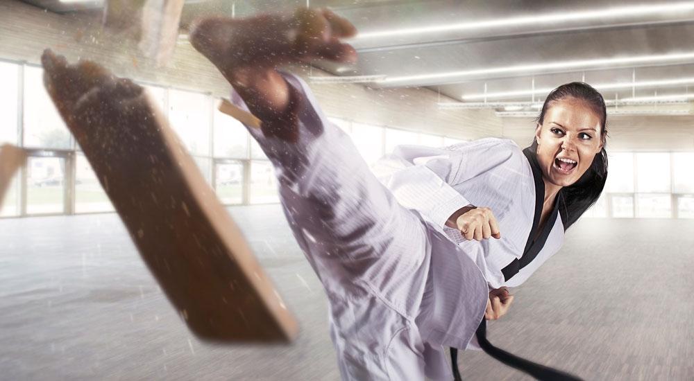 Las mujeres en el Taekwondo
