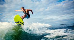Surfear es un gran ejercicio para tu mente también