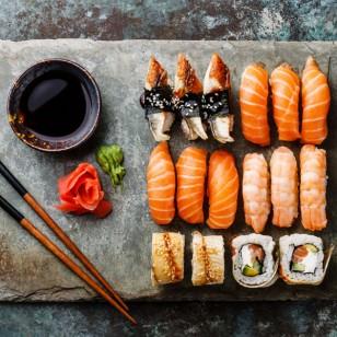 ¿Es sano comer sushi?