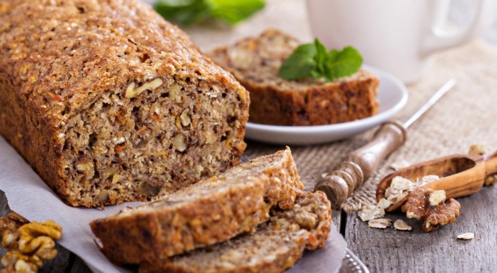 Aprende a preparar un queque de quinua y brownie apaltado