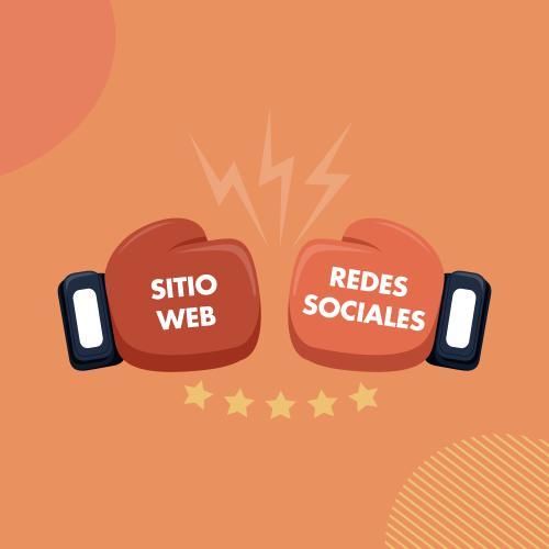 Redes sociales vs página web: ¿Cuál es más importante en la estrategia de marketing?
