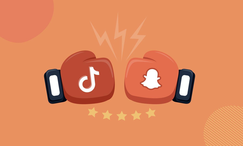 Snapchat regresa a retar a Tiktok