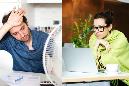 ¿Por qué los hombres tienen más calor que las mujeres?